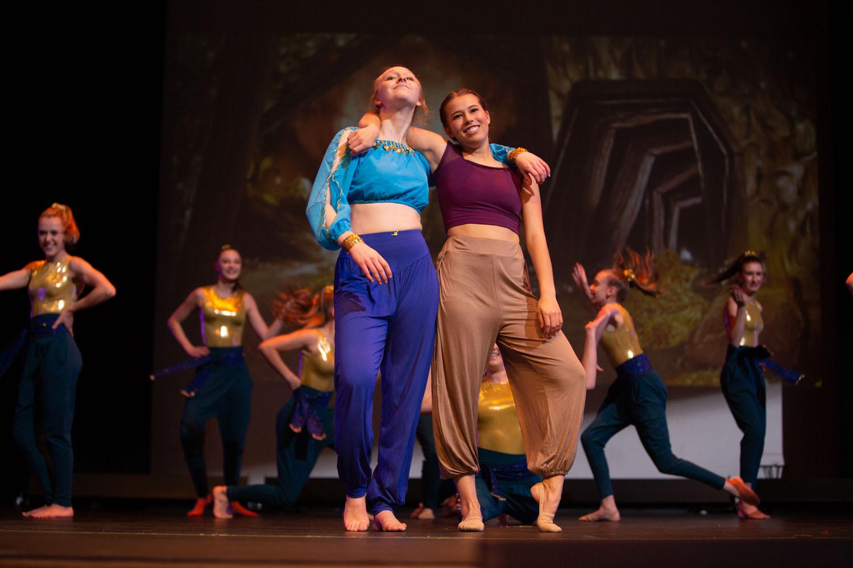 NPA Dance performed Aladdin on Saturday, Dec. 14, 2019 at Sinagua Middle School. Photo by Sean Openshaw / www.SeanOpenshaw.com