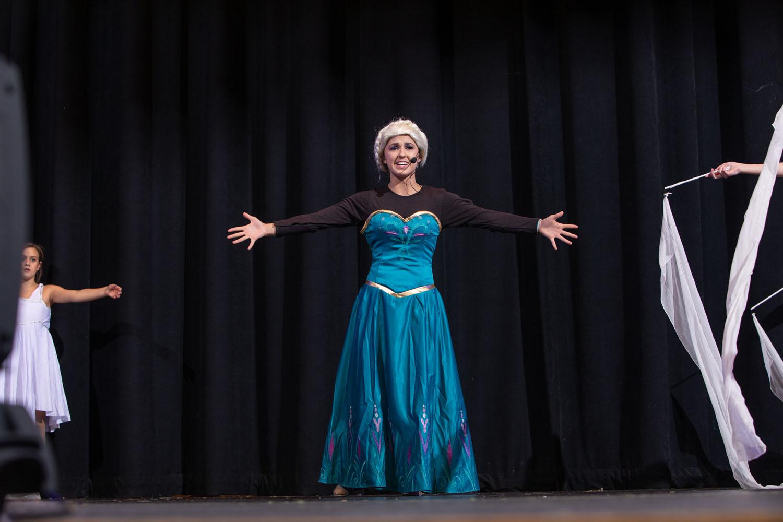 Alpine Community Theater performs Frozen on November 16, 2019. Photo by Sean Openshaw / www.SeanOpenshaw.com