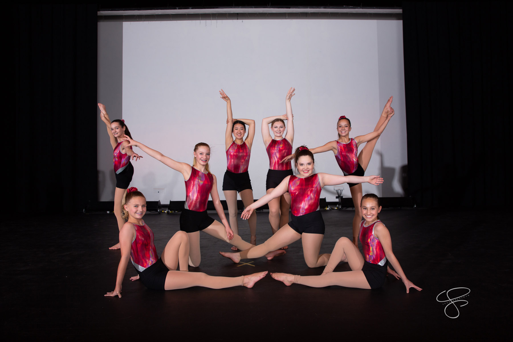 Northland Preparatory Academy dance rehearses for their Spring Performance on April 22, 2019. Photo by Sean Openshaw / www.SeanOpenshaw.com