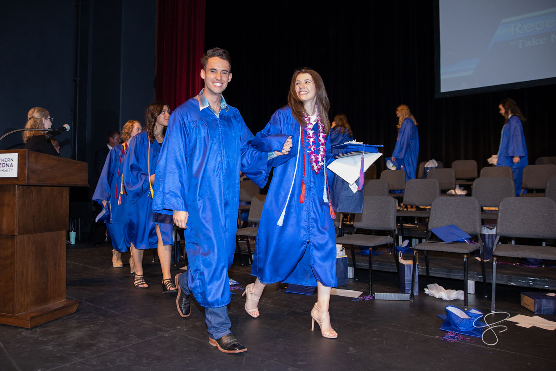 Northland Preparatory Academy's Class of 2019 graduated on May 23, 2019 at NAU's Audrey Auditorium. Photo by Sean Openshaw / www.SeanOpenshaw.com