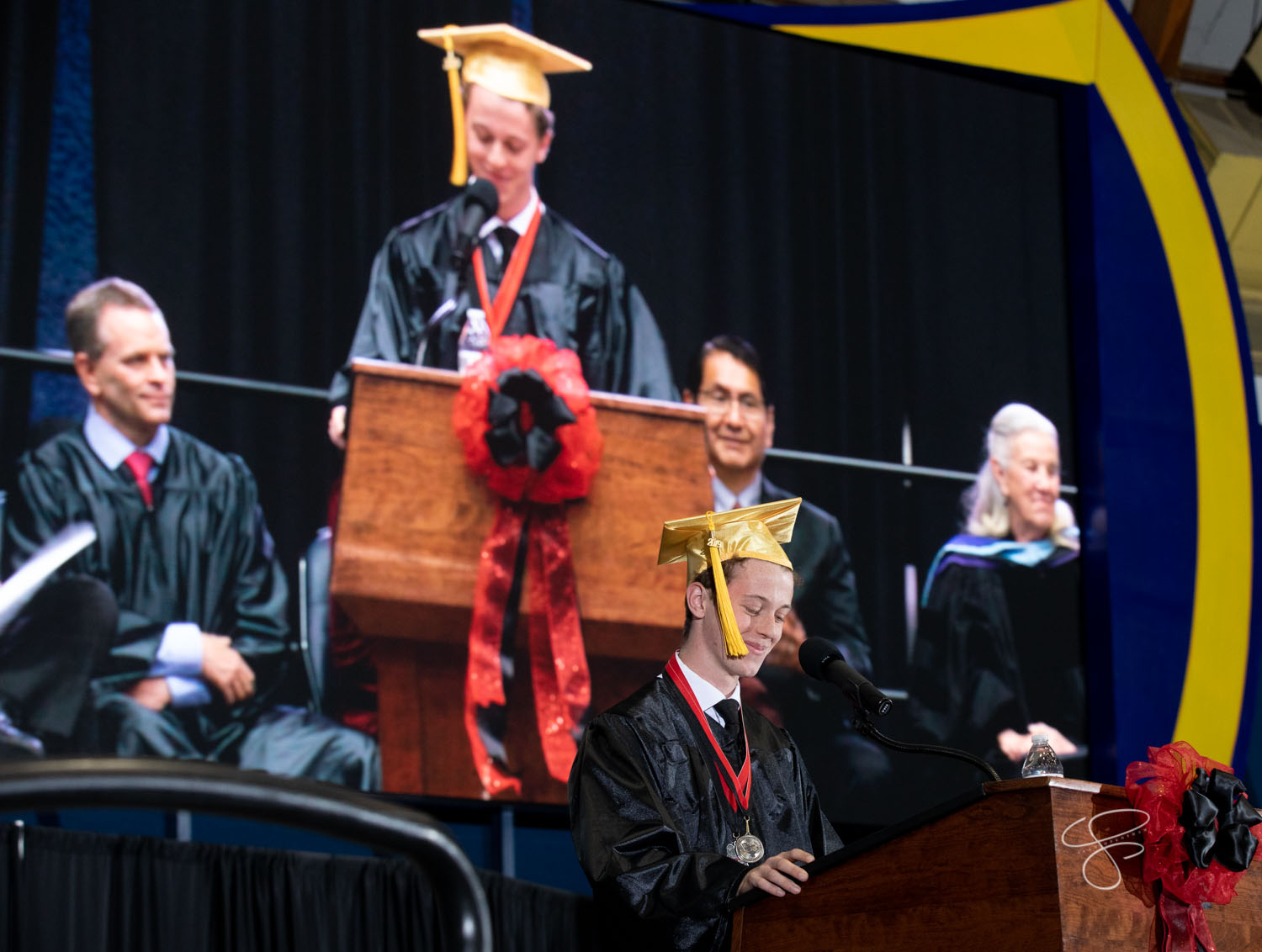 Coconino High School, Class of 2019, graduated on May 31, 2019 at NAU's Walkup Skydome. Photo by Sean Openshaw / www.SeanOpenshaw.com