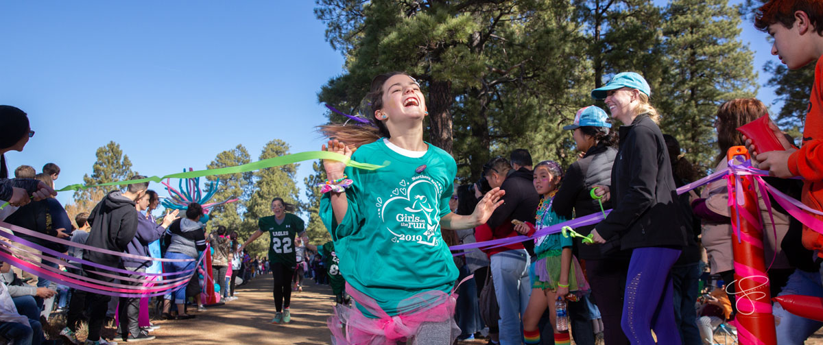 Girls on the Run Northern Arizona had their annual 5K at Ft. Tuthill County Park on Saturday, Nov. 9, 2019. Photo by Sean Openshaw / www.SeanOpenshaw.com