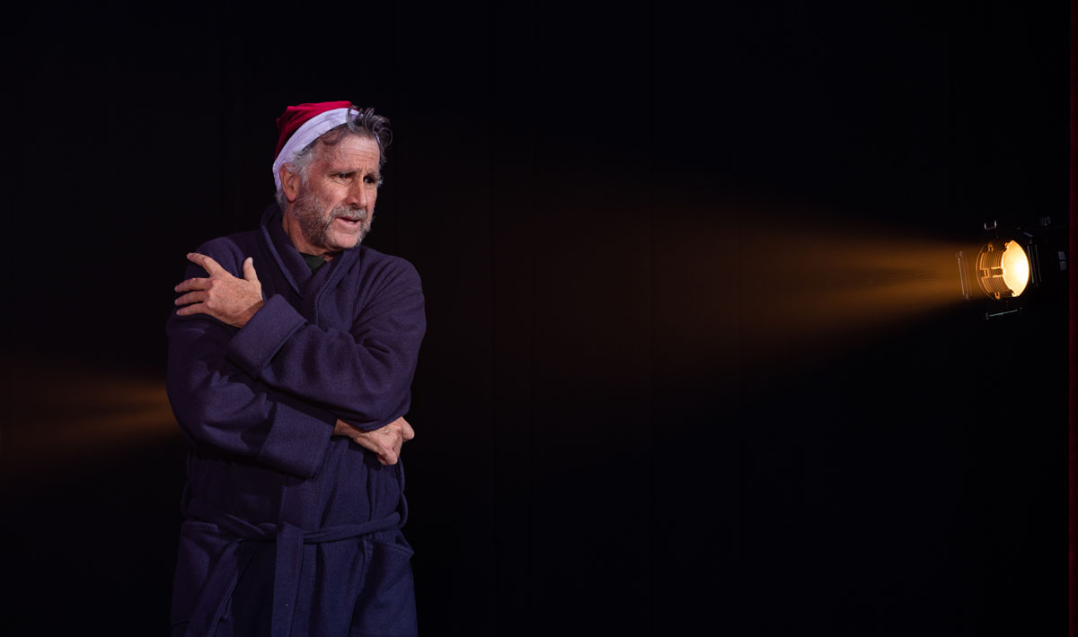 Canyon Movement Company rehearses A Christmas Carol, A modern dance holiday classic on Dec. 9, 2019 at Northern Arizona University's Clifford E. White Theater. Photo by Sean Openshaw / www.SeanOpenshaw.com