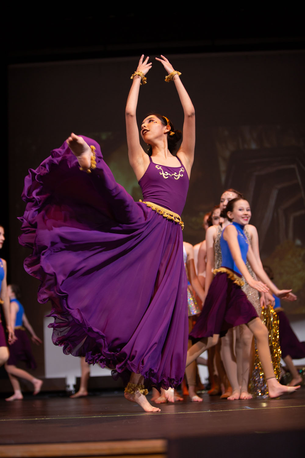 NPA Dance performed Aladdin on Saturday, Dec. 14, 2019 at Sinagua Middle School. Photo by Sean Openshaw / www.SeanOpenshaw.com