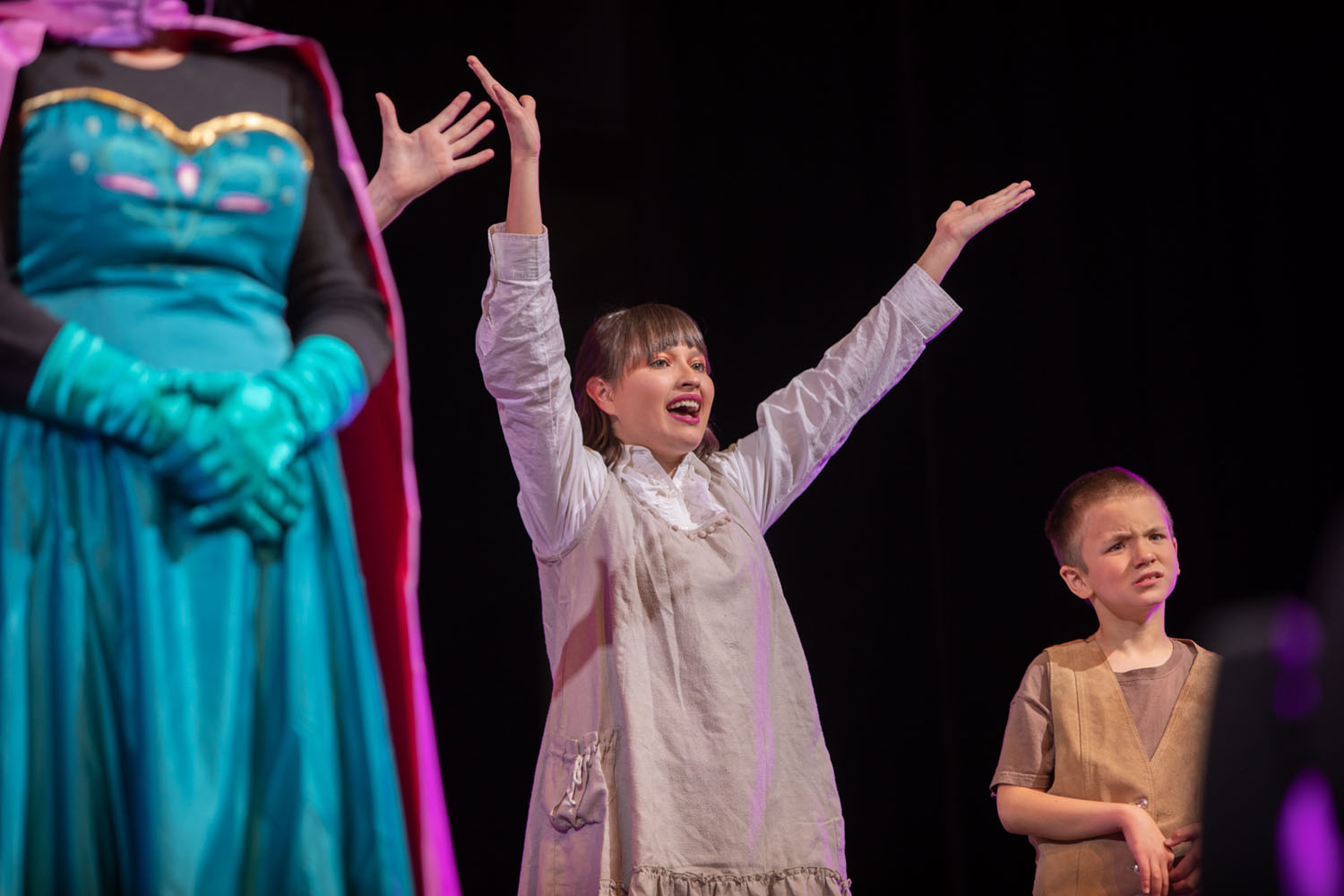 Alpine Community Theater performs Frozen on November 16, 2019. Photo by Sean Openshaw / www.SeanOpenshaw.com