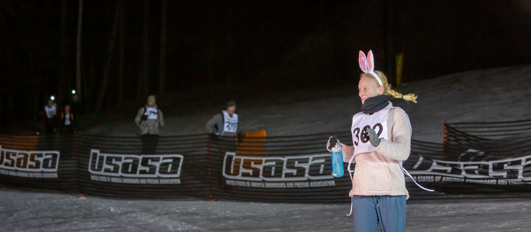 The Kahtoola Uphill celebrated its 13th year on February, 8, 2020 at the Arizona Snowbowl. The Kahtoola is a fun, family-friendly annual mountain race designed to encourage human-powered movement and a fundraiser for Friends of Camp Colton. Photo by Sean Openshaw / www.SeanOpenshaw.com