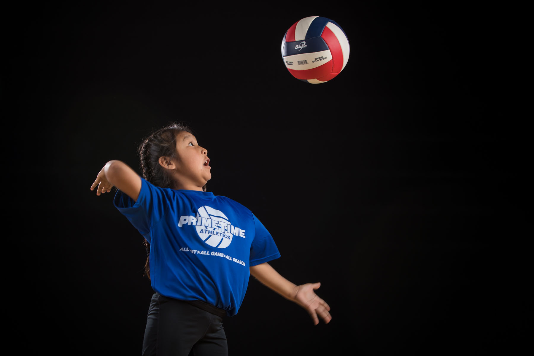 Prime Time Athletics Flagstaff volleyball team photo on February 23, 2020. Photo by Sean Openshaw Photography.